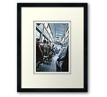 Downtown Trolley Framed Print