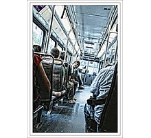 Downtown Trolley Photographic Print