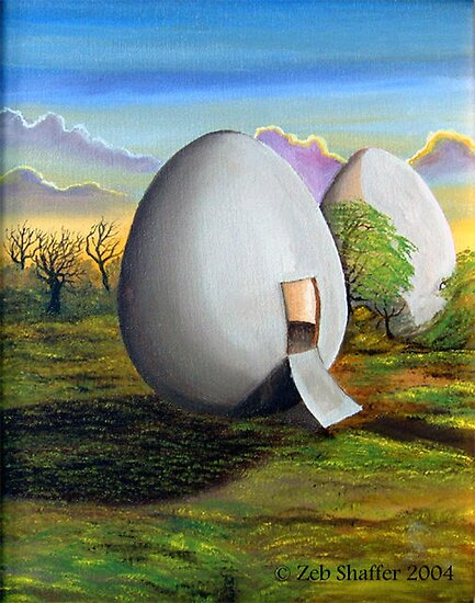 Back to the egg by Zeb Shaffer