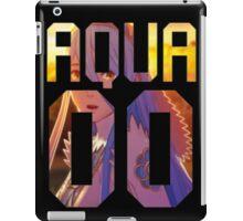 Aqua / Azura Jersey iPad Case/Skin