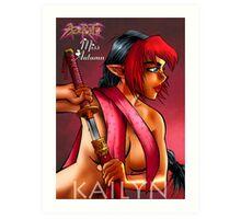 Girls of Azerath - Miss Autumn Art Print