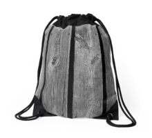 Black and White Living Kolor by Kordial Orange Drawstring Bag