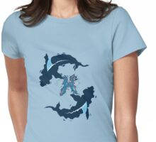 Deadly Waters: Pisces Sharks Womens Fitted T-Shirt