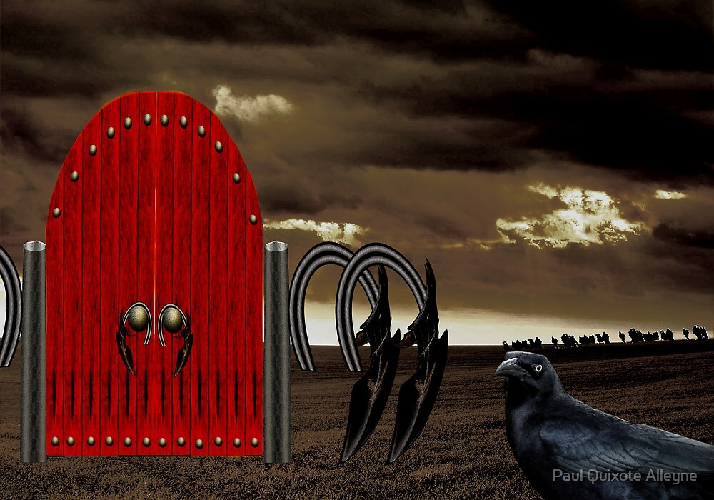 BEYOND THE RED GATE by Paul Quixote Alleyne