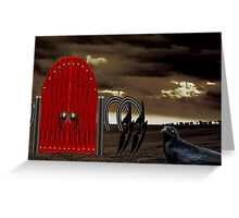 BEYOND THE RED GATE Greeting Card