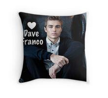 Love Dave Franco Throw Pillow