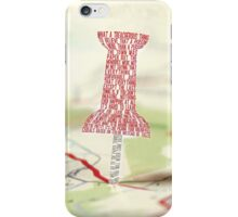 Paper Towns Typography iPhone Case/Skin