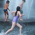 The fountain in Washington Square by Barbara Wyeth