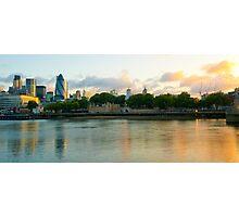 The Cityscape Sunrise: London, UK. Photographic Print