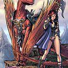 Kailyn The DragonRider by Ryan Wilton