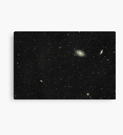 Messier 81 and 82 Canvas Print