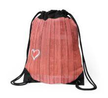 Good & Red Barn by Kordial Orange Drawstring Bag