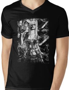 Zombie Deception Mens V-Neck T-Shirt