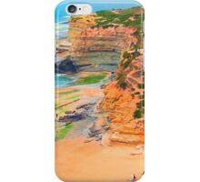 Ericeira cliffs iPhone Case/Skin