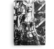 Zombie  Deception Metal Print