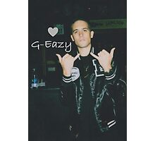Love G-Eazy Photographic Print
