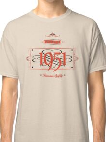 Since 1951 (Red&Black) Classic T-Shirt