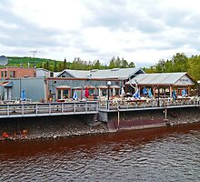 The Pumphouse Restaurant & Saloon, Fairbanks, Alaska, USA by Margaret  Hyde