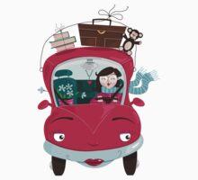 Girly Car by oksancia