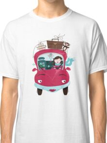 Girly Car Classic T-Shirt