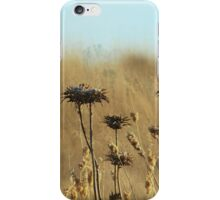 Thistles on the Farm iPhone Case/Skin