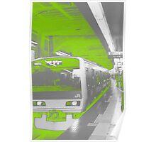Yamanote - Shibuya Station Poster