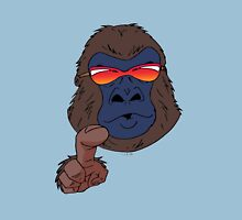 Cool gorilla with red sunglasses  T-Shirt