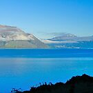 The lake at Queenstown, South Island, New Zealand by johnrf