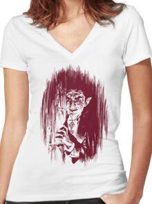 Vlad! Women's Fitted V-Neck T-Shirt
