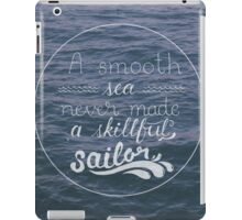 Skillful Sailor. iPad Case/Skin