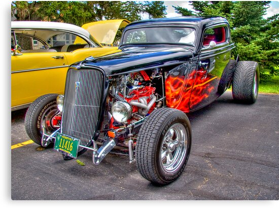 Hot-rod Ford by ECH52