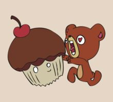 Dear cupcake! Beware, the teddy! by bento