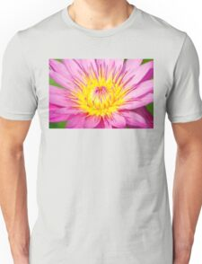 A water lily in close up Unisex T-Shirt