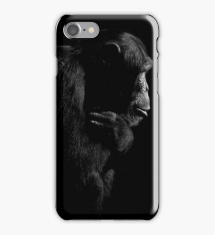Primate Portraits ~ Part One iPhone Case/Skin