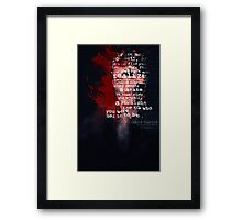 Find Your Passion Framed Print