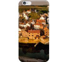Staithes Village at Sunrise iPhone Case/Skin