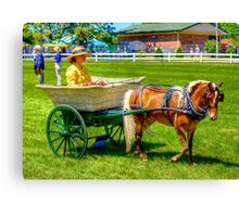 Nanny Cart Canvas Print