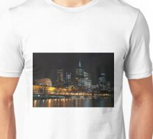 0352 Melbourne at night Unisex T-Shirt