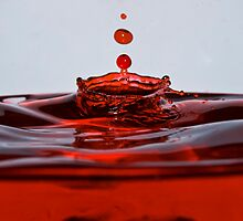 Blood red by Grant Pennycook