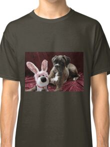 You Can't Fool Me... It's Not The Easter Bunny - Boxer Dogs Series Classic T-Shirt