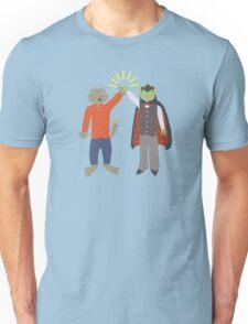 Vampire and Werewolf High Five Unisex T-Shirt