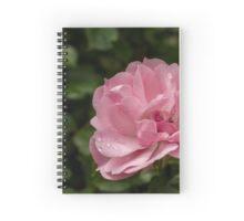 Pink Wild Rose Spiral Notebook