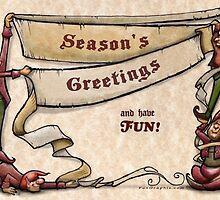 Season's Greetings  by Kevin Middleton