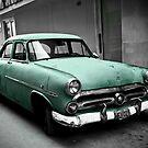 Vintage Car by Angel Benavides