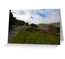Along the Rural Road Greeting Card