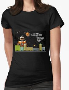Take Me to Your Leader Womens Fitted T-Shirt