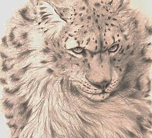 Snow Leopard - Silver Ghost by MCWebster