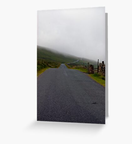 Into the Mist Greeting Card