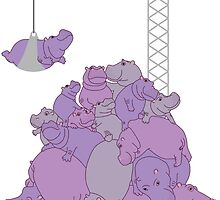 Hippopotapile - the more the merrier! by Hippopottermiss