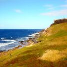 Atlantic Shoreline along El Morro and Castillo San Cristobal by Yannik Hay